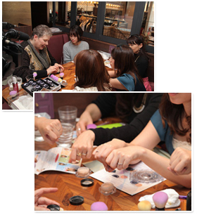 2014年11月18日 有名ママブロガー達が集う交流型体験会、お洒落ママ会でレイチェルワインをご紹介